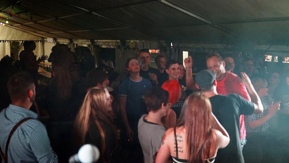 Gaudizocker live in Weickenreuth | 23.07.2016