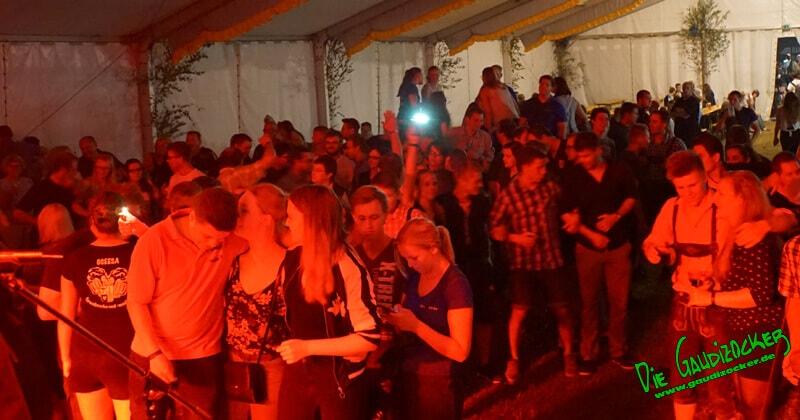 Gaudizocker live in Gollenbach | 08.07.2017