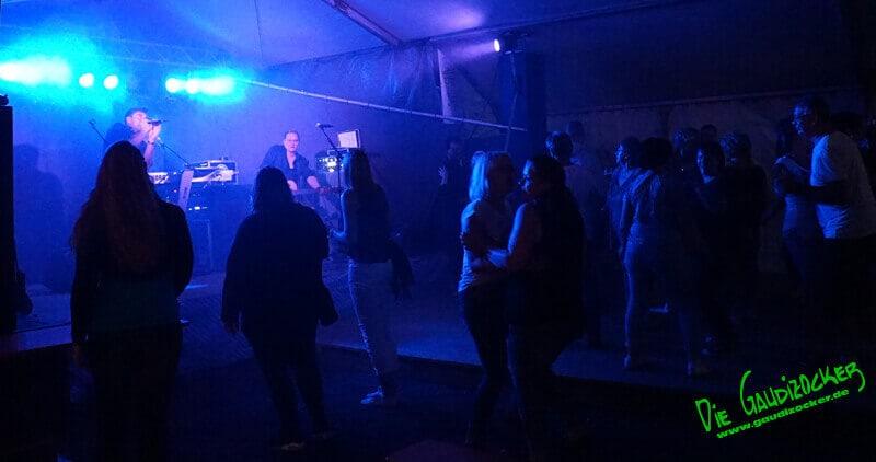 Gaudizocker live in Plankenfels   21.07.2017